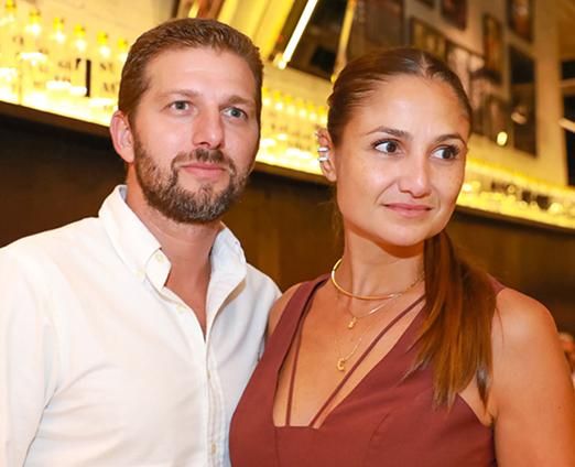 Luiz e Cris Rudge