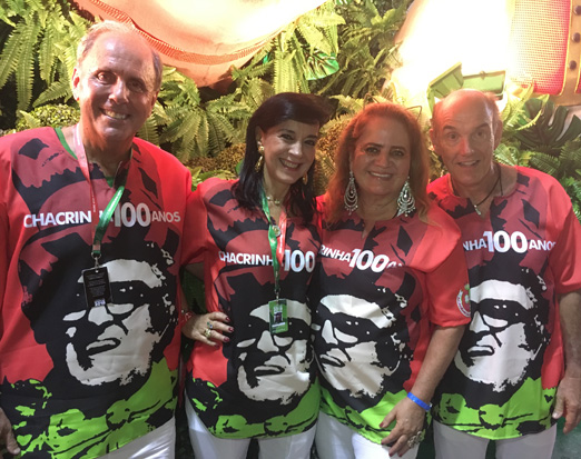 Mônica e Sergio Clark ao lado de Renata e Paulo Fraga