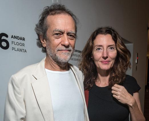 Marco Altberg e Mariana Camargo