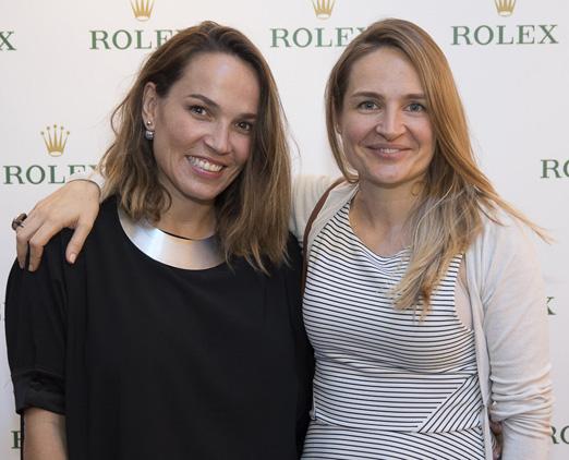 Marina Caruso e Nadia Leaute