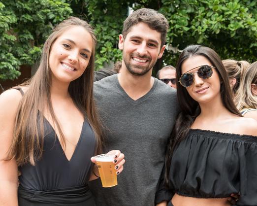 Marina Mello, JC Lopes e Fernanda Terencio