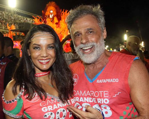 Monica Carvalho e Oscar Magrini