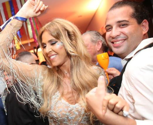 Nina Stevens e Marcelo Machado Matarazzo