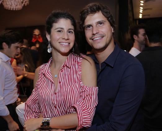 Ornella Maggi e Pedro Braun