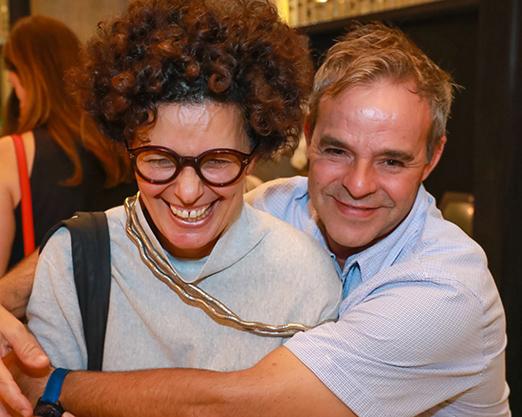 Paula Trabulsi e Luciano Amado