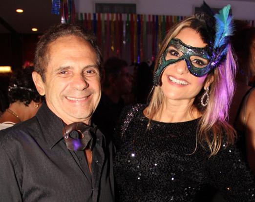 Reinaldo Rique e Adriana Indelli