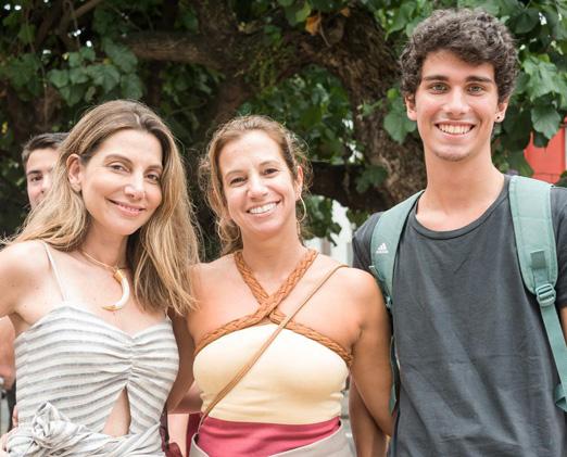 Renata Reis, Clarisse Sette Troisgros e Antonio Montouro