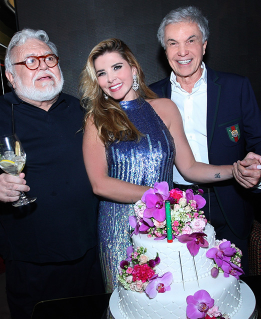 Ricardo Amaral, Bianca Marques e Volney Pitombo