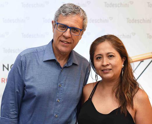 Ricardo Botelho e Angela Meza