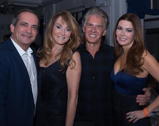 Rolf Machado, Doris Serfaty, Alberto Serfaty, Ana Cecília Chaves de Azevedo