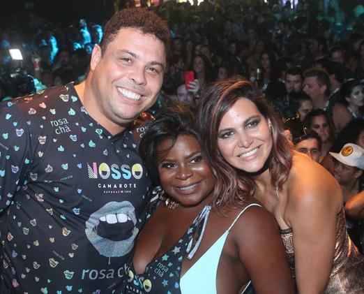 Ronaldo Nazário, Jojo Toddynho e Carol Sampaio