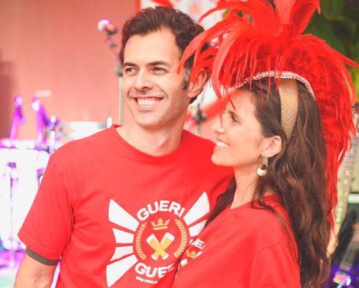 Sergio Morrison e Fernanda Suplicy