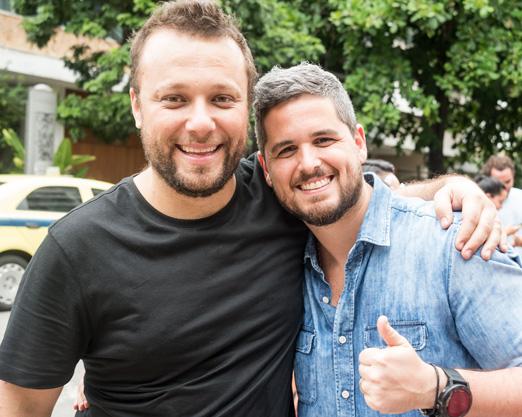 Thomas Troisgros e Rony Meisler