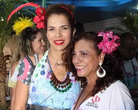 Vanessa da Mata e Catarina Abdalla