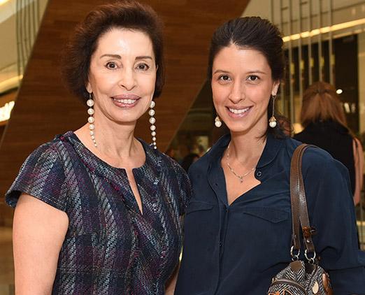 Vera Andraus e Maria Di Pace