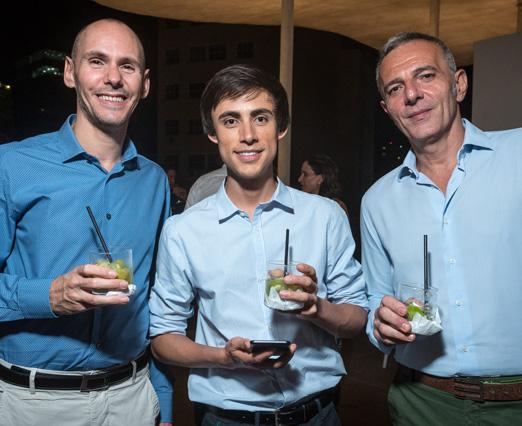 Vincenzo de Santis, Rodrigo Bruno e Riccardo Mangione