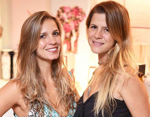 Aline Araújo e Larissa Allemand
