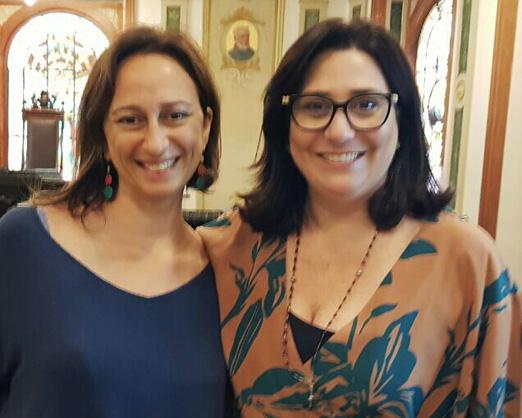 Ana Claudia Guimarães e Laís Bodanzky