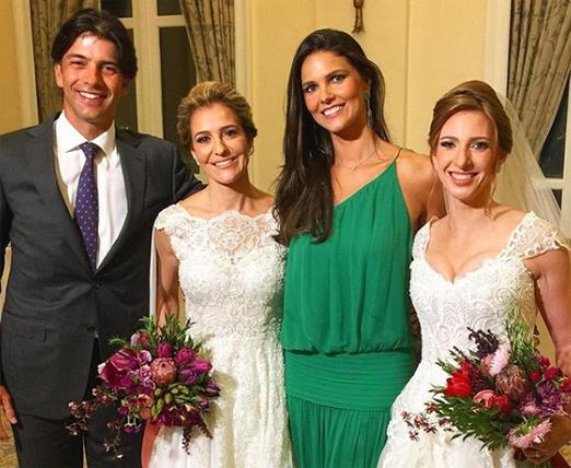 As noivas com Wolff Klabin e Daniella Sarahyba