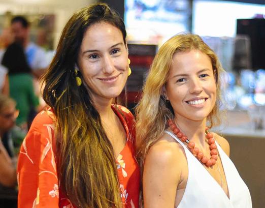 Bruna Barros e Paula Jardim