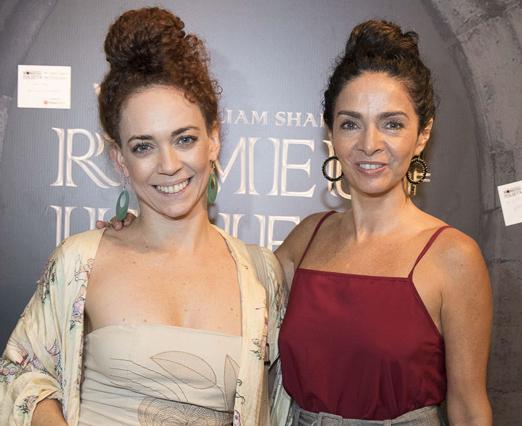 Claudia Ohana e Laila Garin