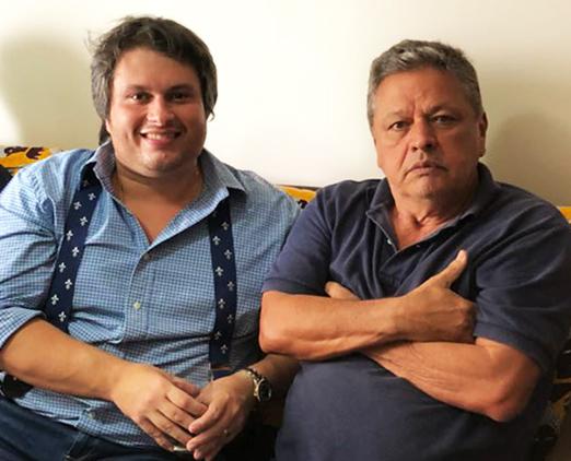 Claudio André de Castro e Aloysito Teixeira