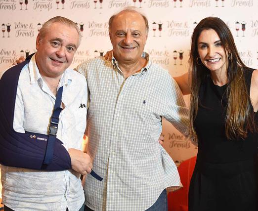 Danio Braga, Paulo Nicolay e Daniella Teich