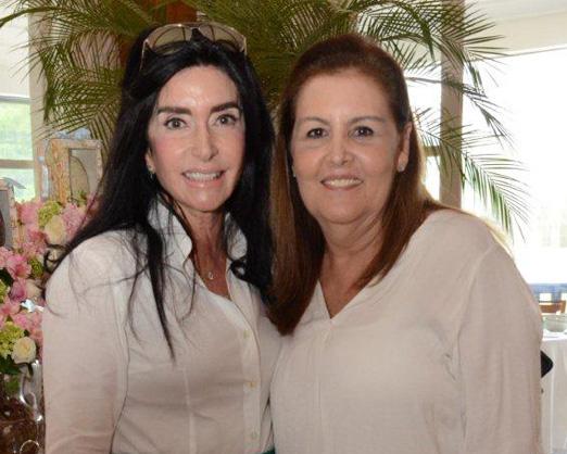 Elda Monnerat e Maria Laura de Freitas
