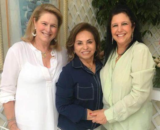 Glória Severiano Ribeiro, Cleuba Verri e Clara Magalhães