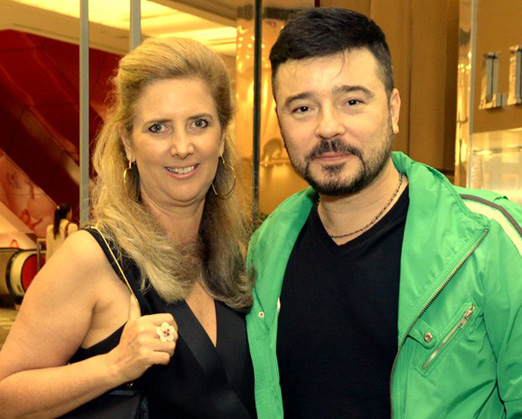 Kika Gama Lobo e Carlos Tufvesson