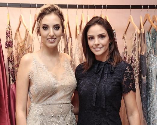 Leticia Manzan e Carol Celico