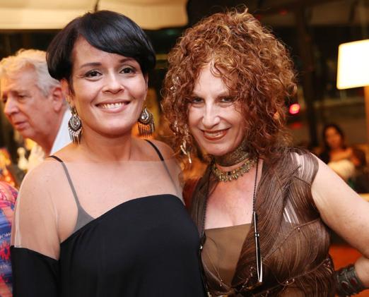 Luciane Valença e Susi Cantarino