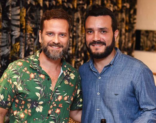 Marcelo Dargains e Tiago Carvalho