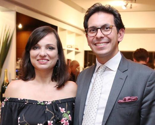 Maria Maia e Netto Moreira