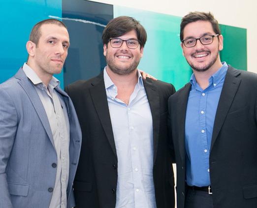Mauricio Lima, Frederico Almeida e Felipe Siqueira