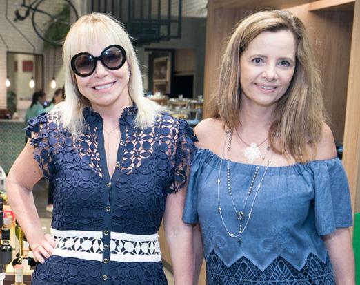 Nina Kauffmann e Priscila Bentes