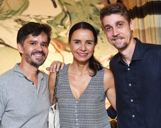 Ricardo Melo, Vera Rebello e Rodrigo Passos