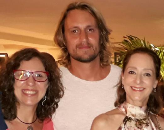 Simone Buissa, Leandro Bellini e Ana Botafogo