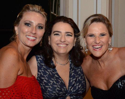 Simone Ortiga, Gisela Delucca e Michele Brandalise