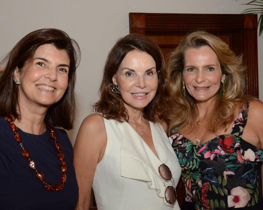 Viviane Grabowsky, Patricia Meyer e Ana Paula Leão Teixeira