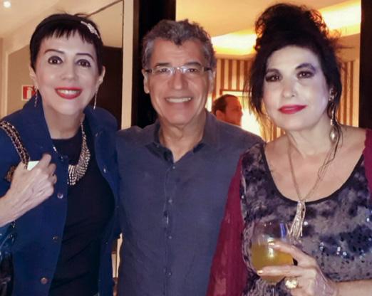 Yacy Nunes, Paulo Betti e a cantora Hanna