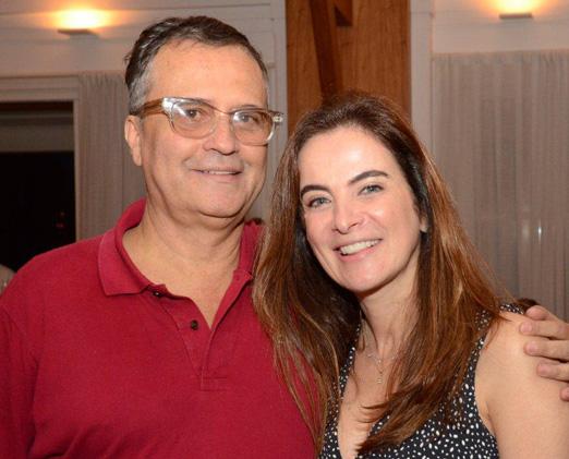 Zé Ronaldo Muller e Patricia Correa